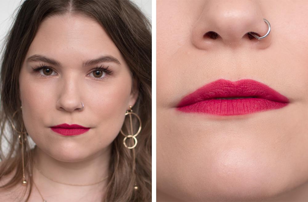 Review: Rouge Velvet The Lipstick in Rubi's Cute van Bourjois