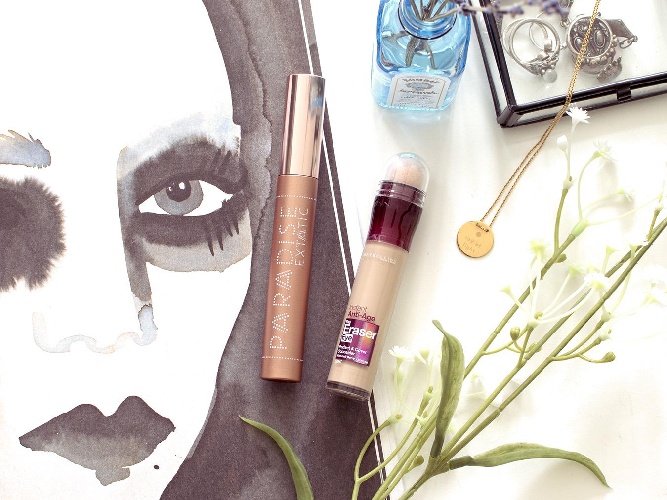 Review: L'Oréal Paradise Extatic Mascara en Maybelline Age Rewind Concealer: getest, voor en na