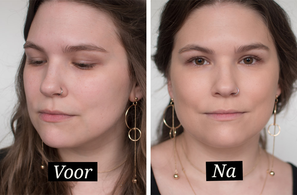 Review: Rimmel Lasting Finish Breathable foundation en concealer. Getest, voor en na.